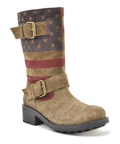 Another great find on #zulily! Light Brown Cooper Suede Boot by Sbicca #zulilyfinds