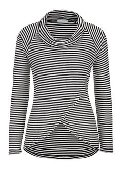 top with cowl neck a