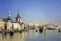 Title: A View of Venice, undated  Artist: Martin Rico y Ortega  Medium: Canvas Art Print - Giclee