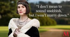 """Lady Mary once said, """"I should hate to be predictable."""" But her declaration does not surprise as she and Branson discuss love, marriage, and the power supply at King's Barrow."""