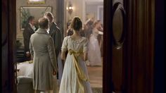 After a looong time… my latest Regency ballgown. And shoes…. - The Secret Dreamworld of a Jane Austen Fan Dress With Bow, White Dress, Somewhere In Time, Regency Era, English Countryside, Long Time Ago, Jane Austen, Ball Gowns, The Secret