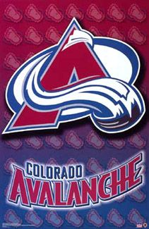 Colorado Avalanche Official NHL Team Logo Poster - Starline Inc.