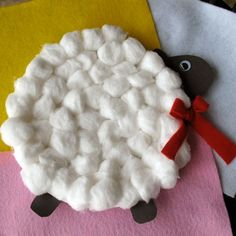 Fun project not just for Easter.  Cute for teachers' lesson plans on farms, textures.