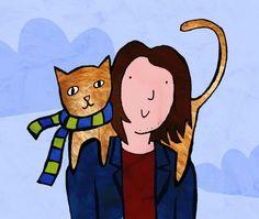 January 17th - Street Cat Bob and James Bowen - Katie Abey