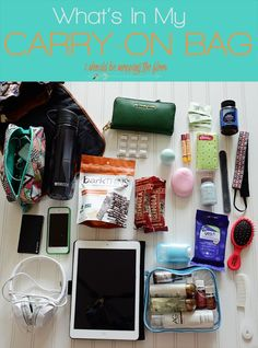 What I Pack Inside My Carry-On Bag Making air travel a breeze by not checking on any bags. Having a wheelie bag full of your clothing and a backpack full of essentials is the key. Carry On Essentials, Carry On Packing, Vacation Packing, Packing Tips For Travel, Travel Hacks, Europe Packing, Traveling Europe, Backpacking Europe, Budget Travel