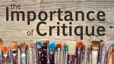 for Art Criticism Fun for the Middle School or beyond Art Classroom! Painting Lessons, Drawing Lessons, Drawing Techniques, Drawing Tips, Diy Painting, Art Lessons, Painting & Drawing, Academic Drawing, Art Critique