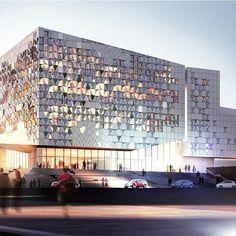 Our #ProjectOfTheDay is Palacio de Congresos, Lanzarote, by Henning Larsen…