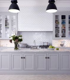 Kitchens That'll Never Go Out of Style: 7 Ingredients for a Timeless Look- White tends to stay in fashion. Love this.