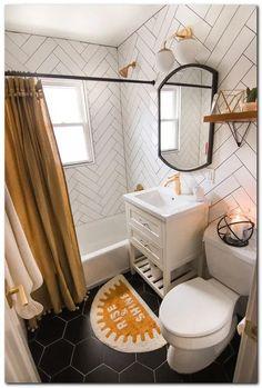 Home Interior Modern Guest Bathroom Reveal Links To Decor!Home Interior Modern Guest Bathroom Reveal Links To Decor! Bad Inspiration, Bathroom Inspiration, Bathroom Inspo, Cute Bathroom Ideas, Zen Bathroom, Appartement Design, Mawa Design, Home Staging, Cheap Home Decor