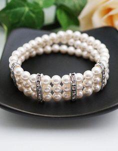 Wedding Jewelry Bridal Bracelet Bridesmaid