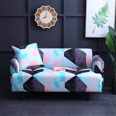 High Quality Stretchable elastic sofa cover,Stretch Slipcovers Sectional Elastic Sofa Cover for Living Room Couch Cover L shape Armchair Cover Sofa Cushion Covers, Couch Covers, Cushions On Sofa, Couch Sofa, Pillow Covers, Throw Pillows, Canapé Simple, Simple Sofa, Old Sofa