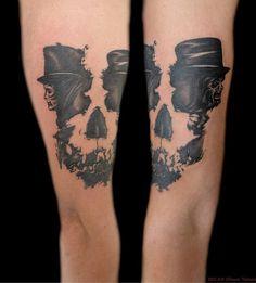 skull tattoos by Milan (2)