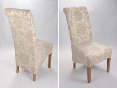 Cream desk chair Cream Dining Chairs, White Desks, Desk Chair, Accent Chairs, Furniture, Home Decor, Upholstered Chairs, Decoration Home