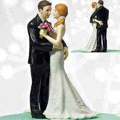 My Main Squeeze Funny Couple Cake Topper