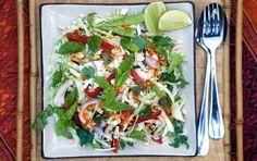 Vietnamese Lemongrass Chicken Salad