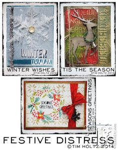 Tim Holtz projects - collins rep show happening September 2014 in orlando, florida.   Love that new deer!
