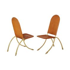 Set of 6 dining chairs by Gabriella Crespi