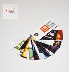mini portfolio business cards