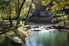 Dogwood Canyon Nature Park  Spreads across the Missouri-Arkansas border in the beautiful Ozark Mountains. The park offers a variety of activities and can be seen by walking, biking , horseback riding or tram tours.  For more details on the history go here:http://exploresouthernhistory.com/dogwood1  #dogwoodcanyon  #bransonmissouri  #naturepark #bransonvacation