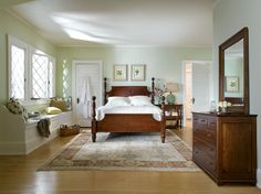 Stickley Owasco Cannonball Bed