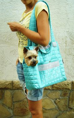 Dog carrier, Pet Carrier, small dog carrier, dog tote, dog purse, tote bag, pet purse, puppy carrier, bag for dog Dog house