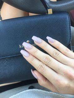 Simple, clean looking coffin nails w/ gel. $45. Still pricier than other places but I am never disappointed here! - Yelp