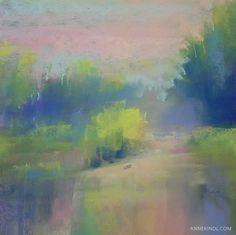 "ANNEKINDL.COM   Meditation No.167  ""I close my eyes, then I drift away, into the magic night I softly say. A silent prayer, like dreamers do, then I fall asleep to dream my dreams of you."" -Roy Orbison"