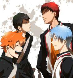 Haikyuu! / Kuroko no Basket crossover