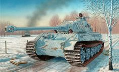 King Tiger in the Battle of the Bulge.
