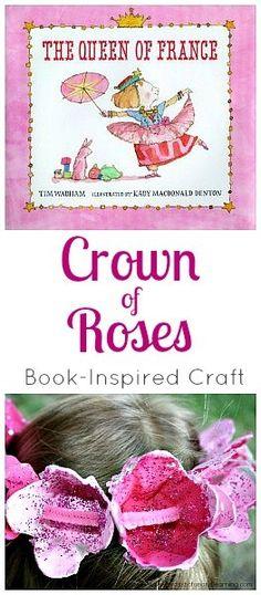 Corona de rosas