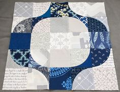 drunkard's path quilt pattern | first mod pop block by anne @ play-crafts ... | Quilting and other se ...