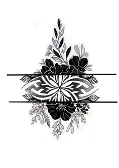 Mandala Design, Lotus Flower, Flowers, Black, Tatoo, Tattoos, Black Tattoos, Armband Tattoo, Roses