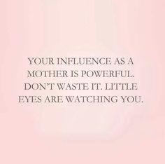 Don't waste it