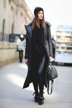 How NYC's most stylish dress for cold weather