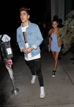Madison Beer and Jack Gilinsky leaving Catch L.A. in West Hollywood! (October 21st, 2016) #Madisonbeer