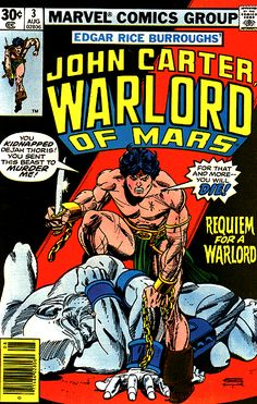 John Carter Warlord of Mars Vol 1 3 - Marvel Comics Database