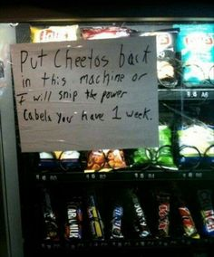 The 10 Most Hilarious Vending Machine Fails Ever  - Delish.com