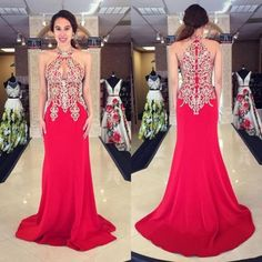 2017 Plus Size Prom Dress Applique Sleeveless Stretch Satin Mermaid Cheap