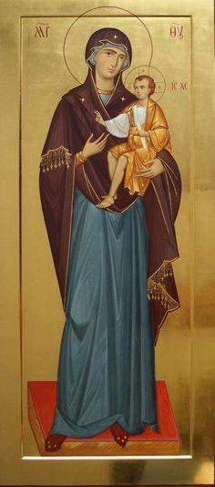 Moeder Gods Hodegetria van de hand van Anton Daineko