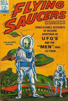 Flying Saucers Comics no. 1, 1967.