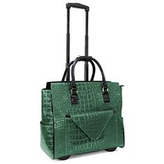 Cabrelli Women S Rolling Laptop Bag With Removable Clutch Bags