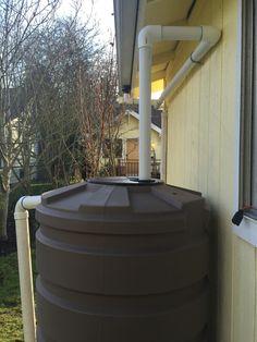 205 gallon rain tank