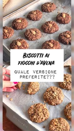 LADdicted - Pagina 2 di 19 - addicted to food & travel Biscotti Biscuits, Biscotti Cookies, Light Recipes, Sans Gluten, Italian Recipes, Food Inspiration, Breakfast Recipes, Bakery, Healthy Recipes