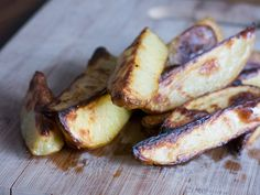 These no-fry fries are the best (any easier than frozen) Oven Roasted Potato Fries with Dijon Dipping Sauce  - #vegan