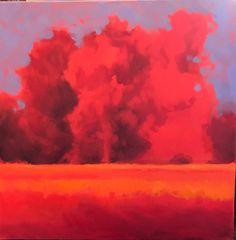 Ablaze, oil Landscape Paintings, Pastel, Clouds, Oil, Outdoor, Pie, Outdoors, Landscape, Outdoor Games