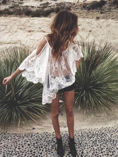 desert white lace