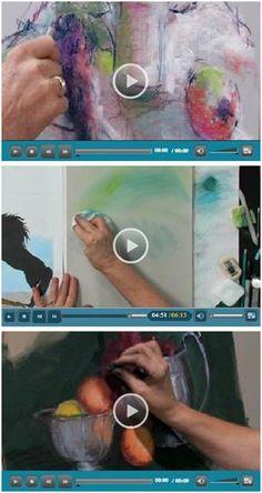 29 бесплатных видеороликов с искусством DIY - Artarama от Jerry's позволяет вам наслаждаться кучей бесплатных видеороликов с пастелью от талантливых художников-пастель.  Начинающий или продвинутый, вы найдете полезные советы и приемы для ваших пастельных портретов, пейзажей, морских пейзажей и живописи.  (Фото: видеоролики Пастель от Дика Энсинга, Джиллиан Голдберг и Луана Лукони Победитель) Нажмите, чтобы узнать, наблюдая за своими любимыми видео.