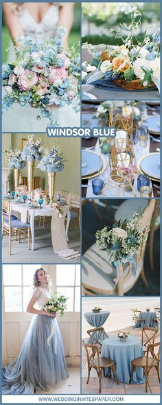 Top 7 Breath-Taking Blue Wedding Ideas to Steal In 2018 - Wedding Invites Paper