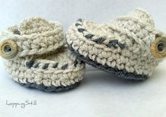 Crochet baby shoes as soon as I know how to crochet!!