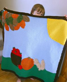 Ravelry: Fall Scene Afghan pattern by Alaina Smith